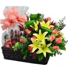 Flower and Fruits Hamper