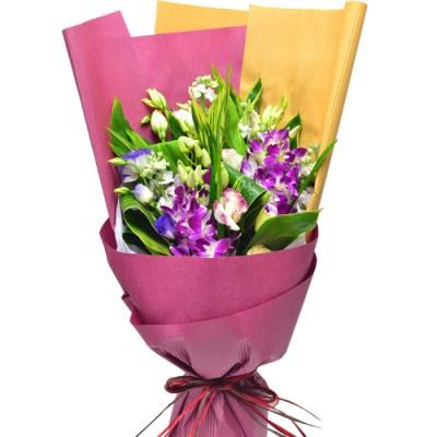 Valentine Thailand Orchids Bouquet