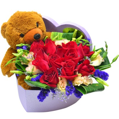 Teddy in My Heart (Brown Teddy)